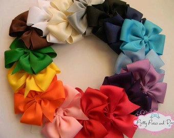 Solid Hair Bow Package