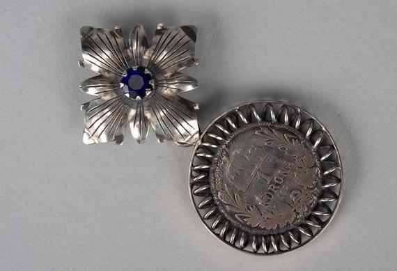 "Silver pendant ""Ducat"""