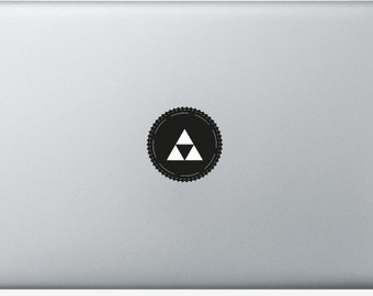 Sticker Macbook - Triangle - Decal for MacBook Air Pro Retina - 11 12 13 15 or 17 inches - Skin for macbook easy to stick
