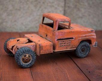 Popular items for steel tonka on etsy - Camion benne tonka ...