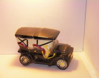 McCoy Touring Car Cookie Jar, McCoy Cookie jar, McCoy, Touring Car Cookie Jar, Car Cookie Jar, Christmas gift, Antique Car , Car Collector