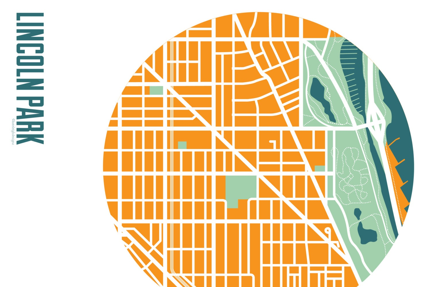 Lincoln Park Chicago Map