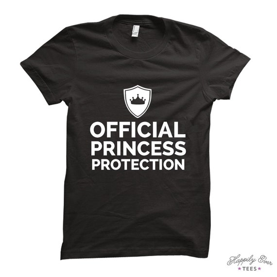 Official princess protection made to order tee by for Made to order shirts online