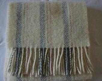 Portland Wool Scarf in Cream
