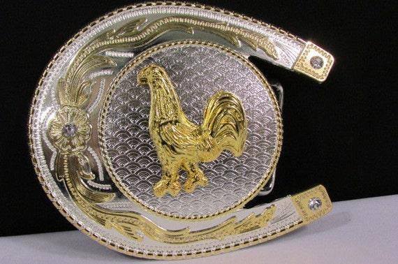 New Men Women Big Silver Metal Cowboy Horse Shoe By Alwaystyle4You-4673