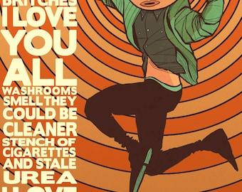 Frank Movie Poster Art Print