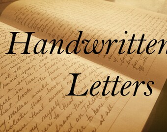 Mailed Handwritten Letter