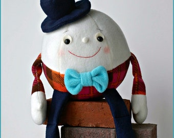 Humpty Dumpty - PDF Sewing Pattern with Step-by-Step Photos and Easy Instructions