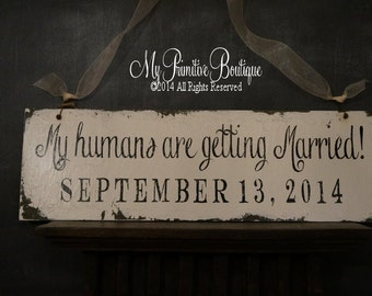 My Humans Are Getting Married Etsy Uk
