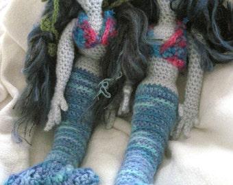 Maya the Mermaid Crochet Doll Pattern