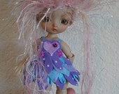 Felt Pixie Dress and Slippers PDF Pattern for Lati Yellow PukiFee and Tiny Delf Sized Dolls