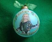 I LOVE GYMNASTICS Ornament, Original Handpainted Personalized Ornament