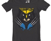 Mens tees Wolverine, X-men Men's Tee, Marvel, Xmen, Gift T-Shirt, Animal T Shirt, Present to guys, Gifts for him, brother, Sizes S-2XL