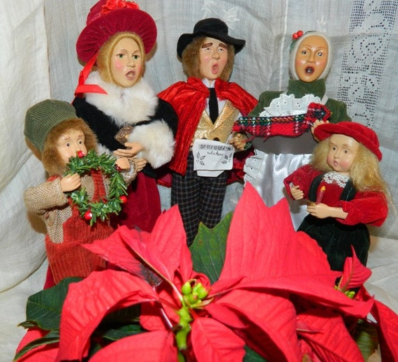 Items Similar To Vintage Santa S Workbench Dickens Choir