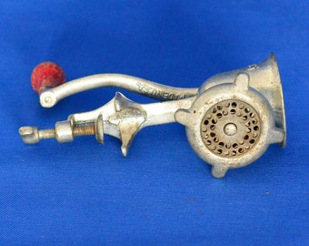 Maid of Honor Meat Grinder - Model 471 - Vintage Kitchen Tool - Made In U.S. A. -  Sold by Sears Roebuck & Co.