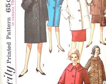 UNCUT 1960's Coat  Bust 32