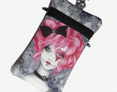 Amy Brown RagDoll cell phone bag, gadget case, 2 pockets