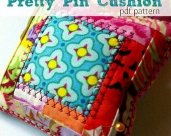 Pincushion Pattern- Sewing Pattern Instant Download