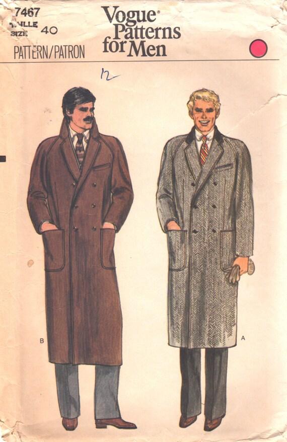 Overcoat patterns