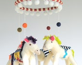 Circus Horse Mobile ---  Made to Order