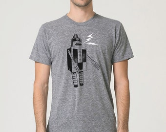 Mens Robot Shirt, Build a Robot shirt, Robot clothing, Robot t-shirt, Robot Tee, Geekery Robot shirt, robot lover gift, dad gift, dad shirt