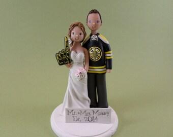 Bruins Wedding Cake Topper