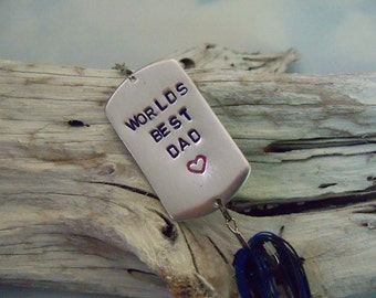 Stocking Stuffer Christmas Gift for Men Tree Ornament Fishing Lure Gift for Husband Holiday Gift Idea for Father Personalized Gift for Man