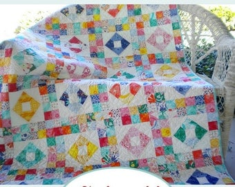 Paper Pattern for Splash Quilt