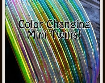 "Color Changing POLYPRO MINI TWINS Set. Made Your Size & Color!  Available in 3/4"" and Most in 5/8"" THiN!  Free Inside Grip Option."