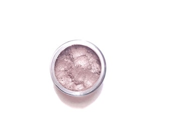 Vegan Mineral Eyeshadow - Quartz Shade - Pink Neutral Taupe Shimmer - Handcrafted Eye Shadow Makeup