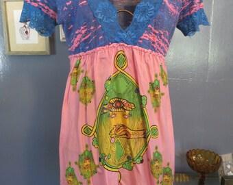 CUSTO Barcelona Summer Lingerie 90's Short Dress