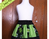 Reserved for Liz D - Shamrock St Patty's Toddler Twirl Skirt - Size 2T
