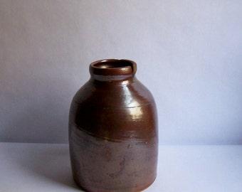Vintage Salt Glazed Stoneware Jug