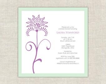 Bridal Shower Invitation Intuition