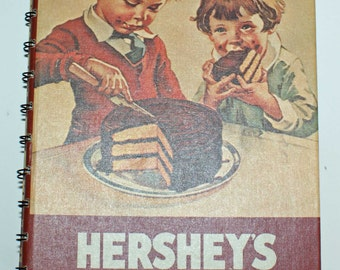 Hersheys 1934 Cookbook - 1971 Printing - Vintage Cookbook - Chocolate