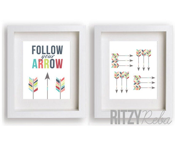 Amazing arrow graphic print set from Ritzy Reba