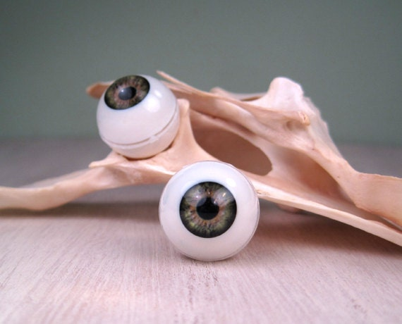 doll eyes acrylic hazel green 16 mm qty 2 by pulpmiscellania. Black Bedroom Furniture Sets. Home Design Ideas