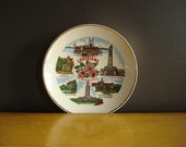 Louisiana Love II - Small Vintage Souvenir Plate - LA Plate