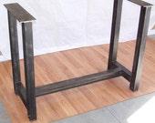 Industrial Steel I Beam Bar Base Kitchen Island Heavy Metal Iron Table Desk Legs
