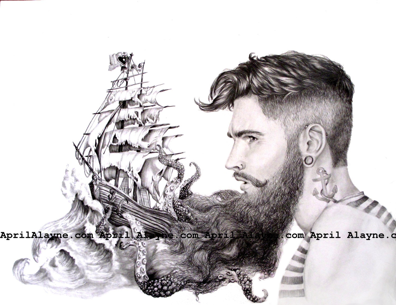 Sailor's Beard Illustr...