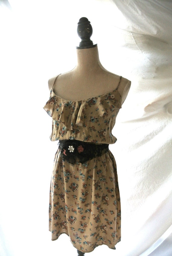 SALE Dress boho dresses romantic country by TrueRebelClothing