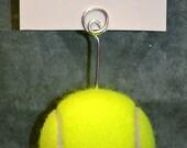 Tennis Ball Escort Card Holder - Business Card/Photo Holder