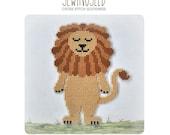 Lion cross stitch pattern, Wizard of Oz Instant Download