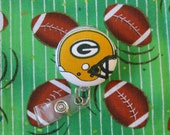 NFL Green Bay Packers Football Badge Reel