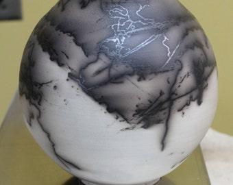 Horsehair Pot #16