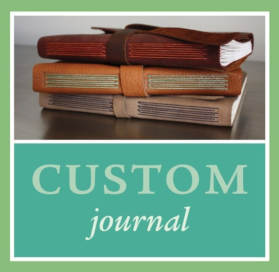 RESERVED for Randi: Custom black leather journal with fuchsia thread and vintage maps