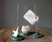 Paper Spindle Spike Vintage Metal Office Supply Desk Accessory Your Choice
