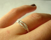 Love knot ring Sterling silver ring twist ring stacking ring rope jewelry infinity ring sailors knot Etsy jewelry