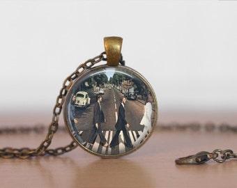 The Beatles  Abby Road Jewelry Pendant