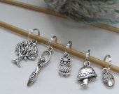 Spirit of the Forest -  Stitch markers